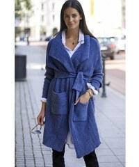 Trendy dámský kardigan Numinou modrý Numinou NUS21 5cef5deef5