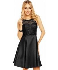 4c3125cf1f3 Dámské společenské šaty bez rukávů ISABELLE černé Charm s Paris 9077