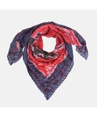 793f8e53b5c Vivienne Westwood Nádherný dámský šátek Vivienne Weswood červenomodrý