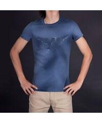 aa9be4304060 Armani Jeans Módní pánské triko Armani modré S