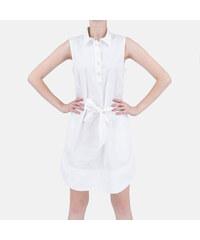 Armani Jeans Luxusní letní šaty Armani bílé 36 0a03bb9468
