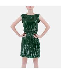 e9c973a6428 Armani Jeans Luxusní zelené šaty Armani 36