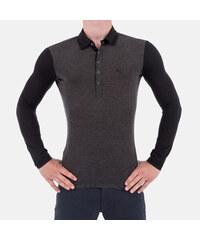 a1b9cc342b0f Luxusní pánské šedé tričko Armani Jeans L