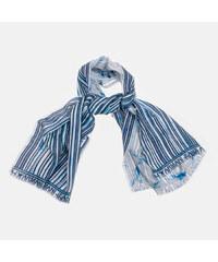 Šála Guess Nissana logo foulard blue - Glami.cz 432c2813847