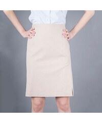 Armani Jeans Elegantní béžová sukně AJ XL cedcdbfd8b