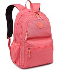 f80212c50c2 Lulu Bags (Anglie) Kvalitní lososový batoh s vodoodpudivou úpravou Miss Lulu