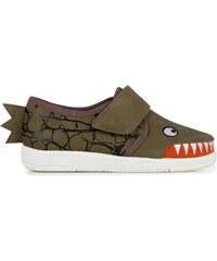 Emu Australia Emu khaki chlapčenské tenisky Croc Sneaker Khaki c88286be3b0