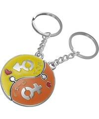 Šperky eshop - Kľúčenka pre pár - skladačka Jin Jang AB31.06 4d285536a4b