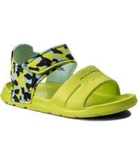 Sandály PUMA - Wild Sandal Injex Camo PS 365081 01 Peacoat Limepunch 28828da2b6