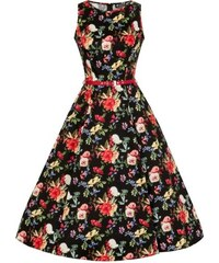 Retro šaty Lady Vintage Hepburn Summer Floral 713e548337