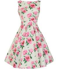 Dámské retro šaty Lady Vintage Tea Romantik Floral ae1ca67c63