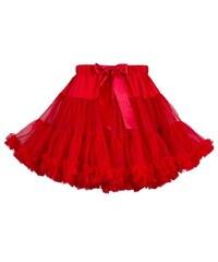5d1e4f3d3ed Červené jednobarevné sukně - Glami.cz