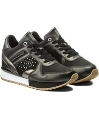 Tommy Hilfiger černé tenisky Metallic Sneaker Wedge Black - 39 e44bc263208