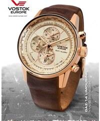 Vostok - Europe GAZ-14 world timer alarm line YM26 565B294 férfi karóra 82795ba152
