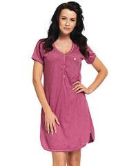 DN Nightwear Dámská bavlněná noční košile Lor se srdíčkem 374d8500d1