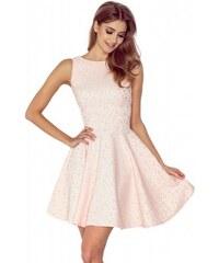 4be044c901a Dámské elegantní šaty WHEELS bez rukávu broskvové NUMOCO 125-14