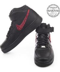 64e819a46fd7a Čierne, Nike Air Force Dámske tenisky z obchodu Shoozers.eu - Glami.sk
