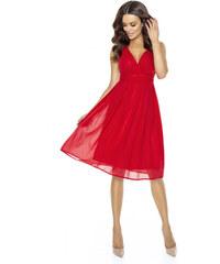 420663dab6e KARTES Dámské šaty Večernice DeLuxe červené