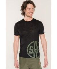 SAM 73 Pánské triko MT 734 500 - černá 00bf548b37
