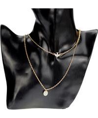 Lodestar Zlatý náhrdelník s vlaštovkou c8252aa5021