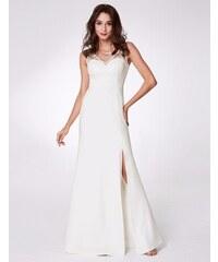 Ever Pretty bílé maxi šaty - Glami.cz 1c08dd03f3