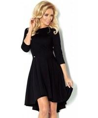 3f177d65719 Luxusní dámské společenské a plesové šaty s 3 4 rukávem černé NUMOCO 90-3