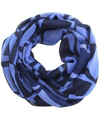 Modré kostkované dámské šály - Glami.cz 470beb7fc5