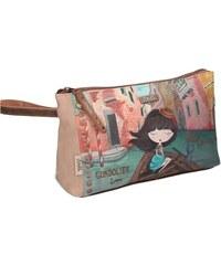 Kožená kabelka dámská Gilda Tonelli 5169 VIT.SEUL. Detail produktu. Anekke  stylová toaletní taška Venezia 3c45ad19c96