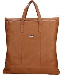 Unisex batoh taška Facebag Pierro - hnědá 699dee50a6