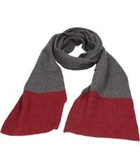 694e0d85c33 Elegantní pánská šála Lerros Michael - šedo-červená