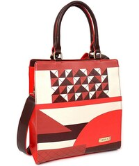 Dámská kabelka Doca 12921 - červená dc42fae35e8