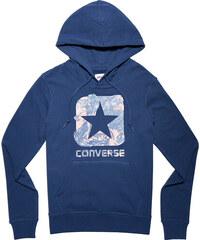 Converse Dámská tmavě modrá mikina Graphic Boxstar Pullover Hoodie d99a14265b8