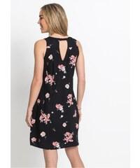 Lafira dámské černé květinové šaty 59-7 - Glami.cz 53594f3c7a