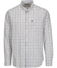 e2aa8fc04b0 Modro-bílá kostkovaná tailored fit košile Barbour Henry