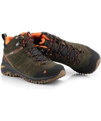Unisex obuv outdoor Alpine Pro TRIGLAV 2 MID - hnědo-zelená (khaki) a164fe8a59a