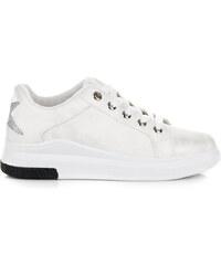 MILUJEME BOTY Bílé stylové tenisky 744c01d7aaf