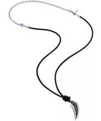 Pánský kožený náhrdelník Police PJ26183PLS 01 b4b6302bb04