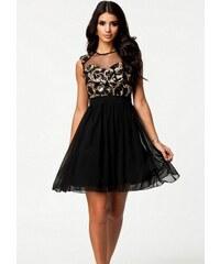 a7acb4dcd125 Dámské společenské šaty Baka - černá