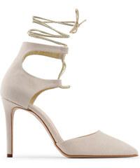 fd09c09635c0 Hnedé Dámske topánky na vysokom podpätku