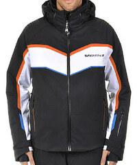 Pánská lyžařská bunda Völkl Yellow Rush Jacket Black White 2 e1f0049928c
