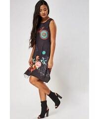 J J Společenské šaty značkové moderní střih s ozdobnými zipy na ramenou  růžové. Velikosti  S  eb7b7b5e99