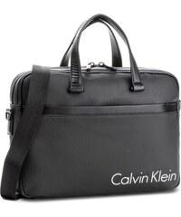 Brašna na notebook CALVIN KLEIN - Quad Stitch Laptop B K50K503503 001 7378fb9b28