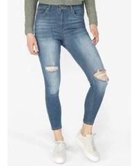 905ea872c79 Světle modré super skinny džíny s potrhaným efektem Miss Selfridge
