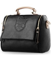 9d09dd88340 World-Style.cz Listonoška kufřík s raženým vzorem černá