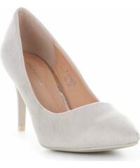 15e178c541 Ideal Shoes Univerzální dámské lodičky Béžové