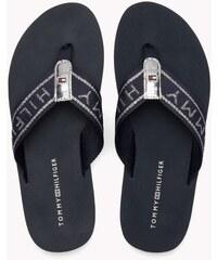 aebf22a388 Tommy Hilfiger tmavo modré žabky Flexible Essential Beach Sandal Midnight