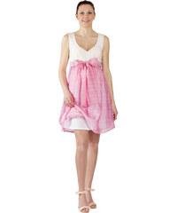 Těhotenské společenské šaty Rialto LACROIX UP růžové 0023 716f05a48c