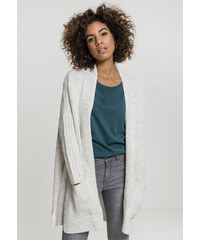 Dámsky biely sveter Urban Classics Ladies Oversized Cardigan 8d9d57eeaf4