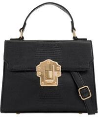 24656fc04b MirrorMirror Elegantná listová kabelka. Detail produktu. ikabelky Dámska  elegantná crossbody K-T2299 čierna