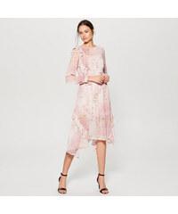 136030dffa1 Mohito - Vzdušné květované šaty gold label - Vícebarevn